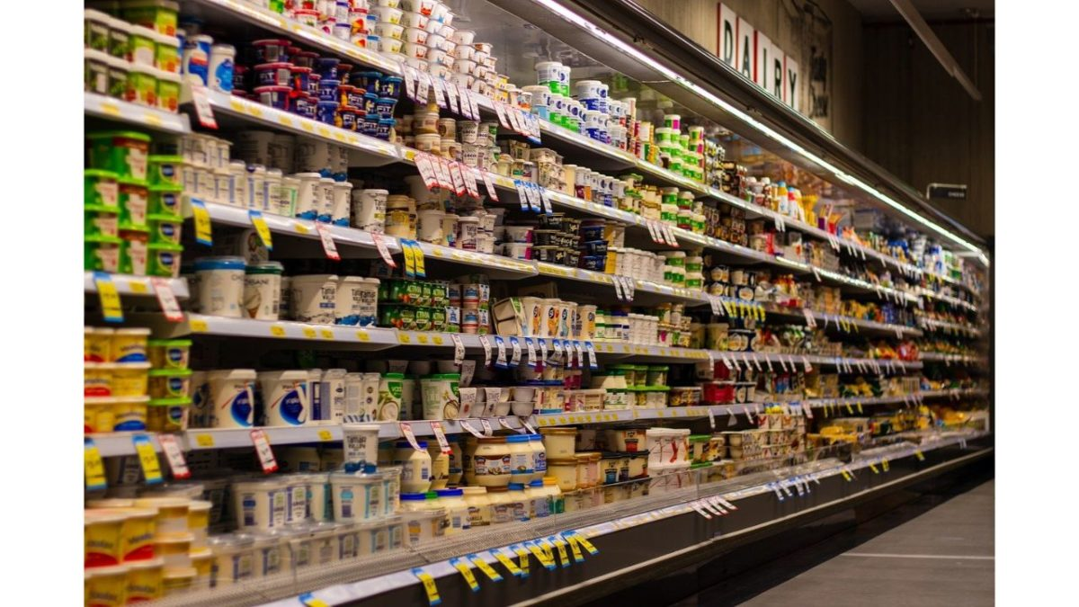 inside of the supermarket