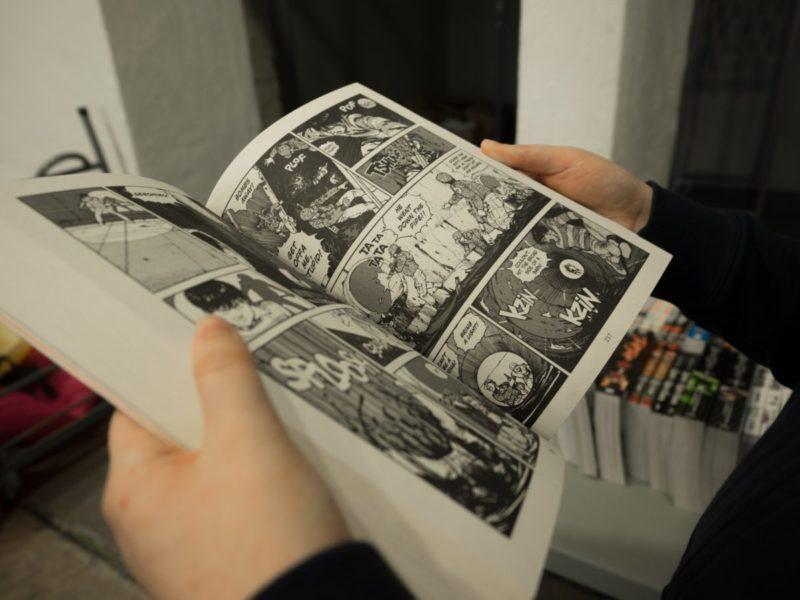 a comics.